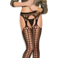 Crochet Suspender Pantyhose 1188