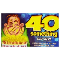 40-something Vouchers for Him