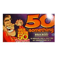 50-something Vouchers for Him