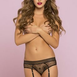 Lace Panty with Keyhole detail
