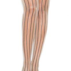 Pin Stripe Thigh Hi   1112