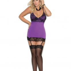 Chemise with Suspenders 4341