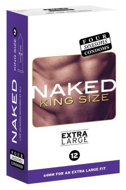King Size Naked Four Seasons Condoms